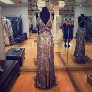 Dresses & Skirts - Fully beaded formal gown